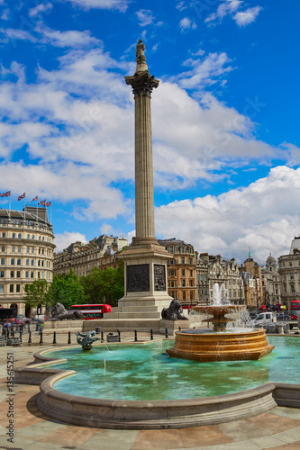Photo Stands Kiev London Trafalgar Square in UK