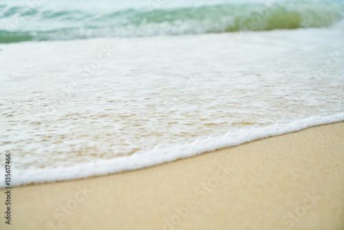 Foto auf Gartenposter Strand Sea Texture