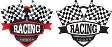 Racing Or Motorsports Badge Or Logo
