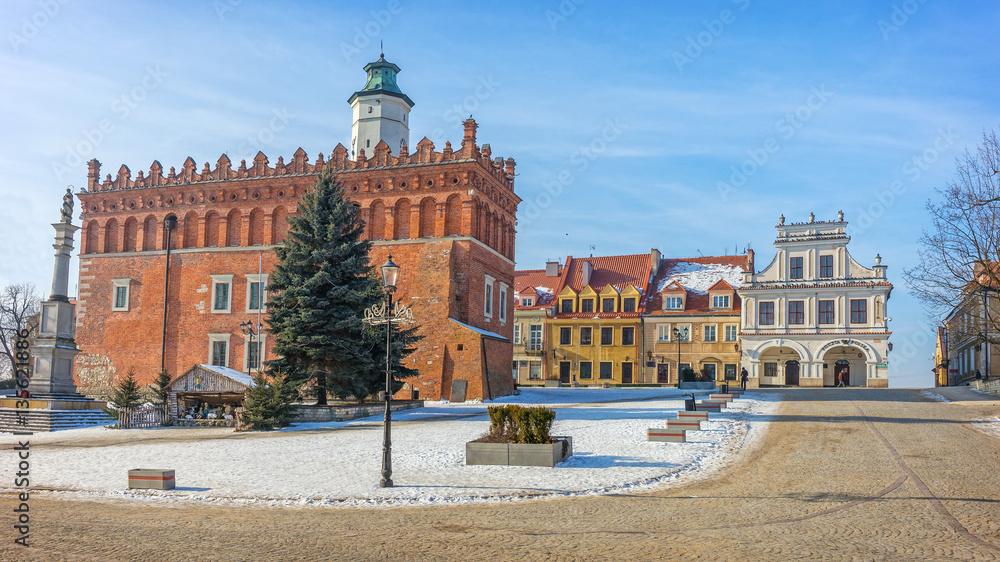 Fototapety, obrazy: Old Town, Sandomierz, Poland