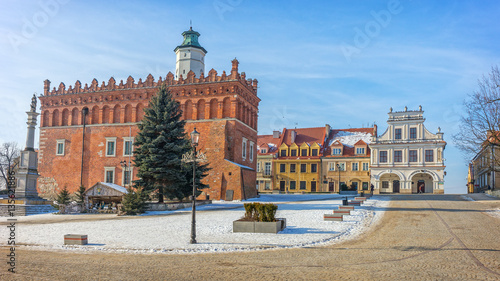 Obraz Old Town, Sandomierz, Poland - fototapety do salonu