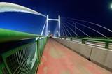 Przemyśl,most nocą.