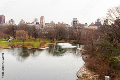 Canvas Print Central Park, New York