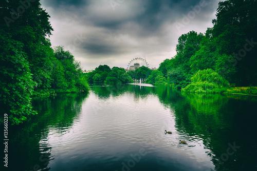Photo  St James park, London