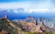 Teide of Tenerifa & Pico Nublo of Gran Canaria