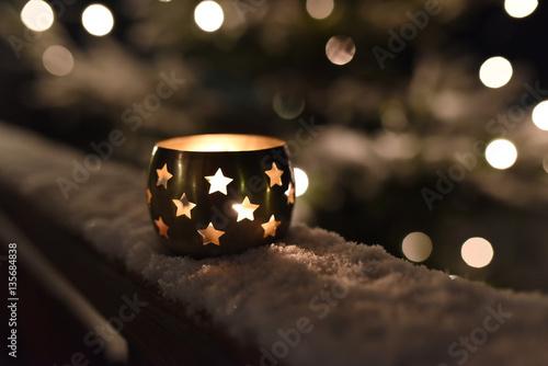 Decorare Candele Di Natale : Candela candele porta candela stella natale albero di natale luce