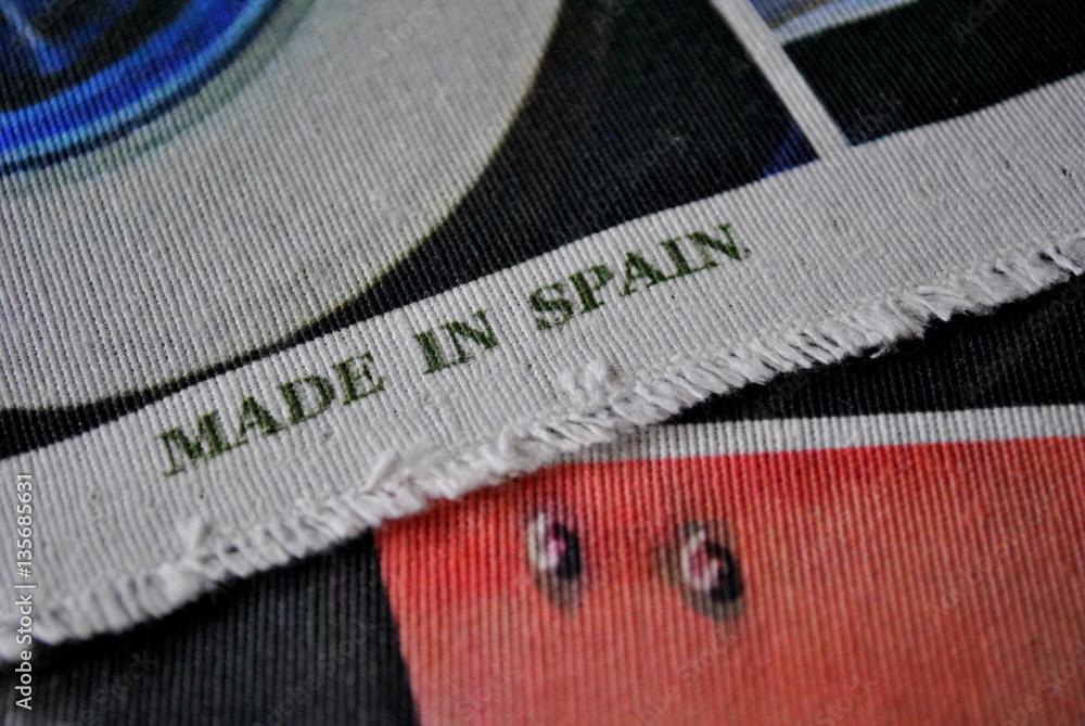 Fototapeta Made in Spain