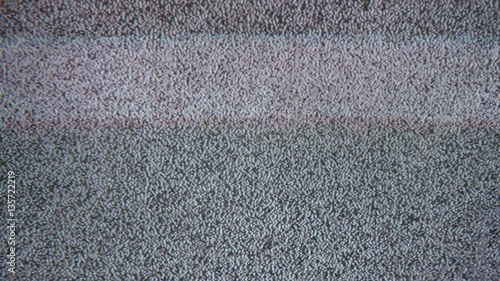 Fotografie, Obraz  Tv noise interference bad signal screen television