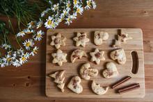Homemade Cookies With Cinnamon