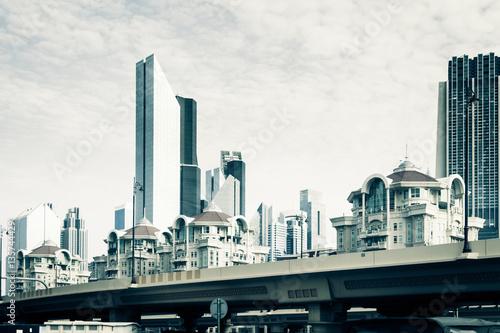 Photo  Dubai Street Scene