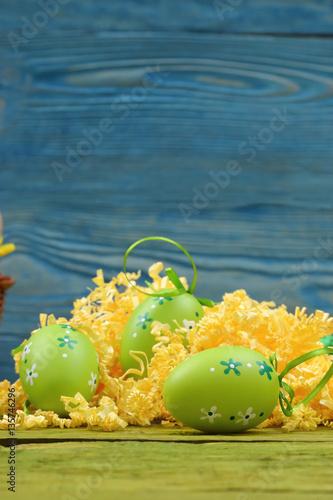 Fototapeta Kompozycja na święta Wielkanocne obraz