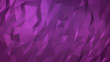 Abstract Geometric Paper Purple