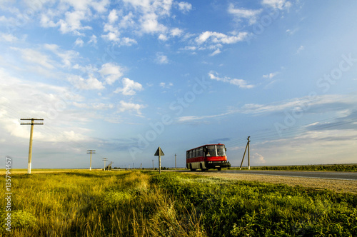 Photo sur Aluminium Fantastique Paysage Crimea, near Stepne, Ukraine, Stepne