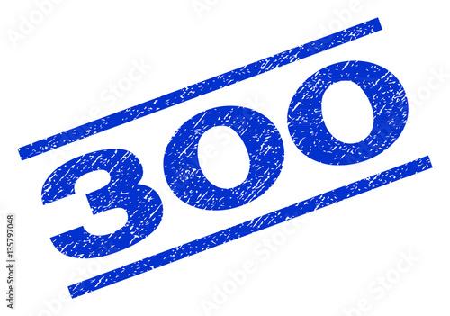 Fotografia  300 watermark stamp