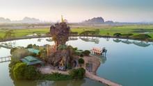 Kyauk Kalap Pagoda In Myanmar