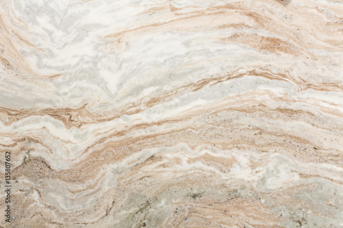 Photo sur Aluminium Marbre Light brown quartzite stone surface.