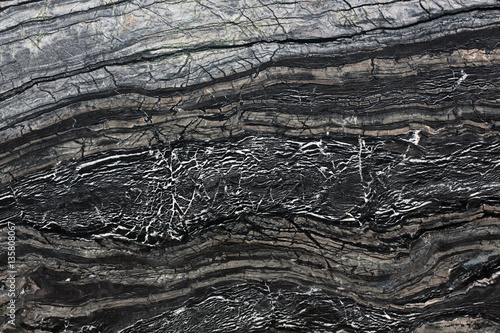 Canvas Prints Marble Black marble stone, abstract background.