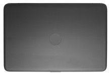 Closed Black Laptop. View From...