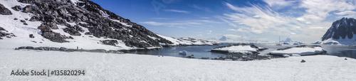 Ingelijste posters Antarctica Antarctica Landscape