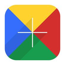 Google Social Network Icon Add Followers
