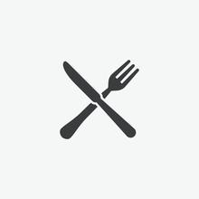 Fork & Knife Restaurant Icon