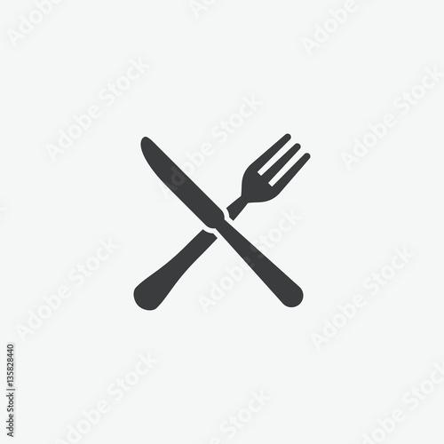 Foto Fork & Knife Restaurant Icon