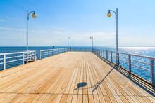 View Of Jurata Pier In Sunny S...