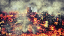 Apocalypse. Burning City, Abst...