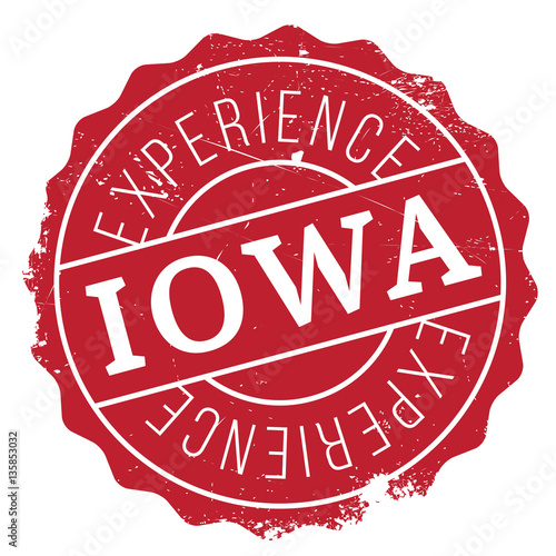 Photo  Iowa stamp