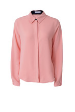 Pink Women's Blouse Isolated O...
