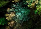 Fractal Alien Moss Branches   - Fractal Art  - 135860695