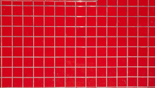 Red Tile Wall.