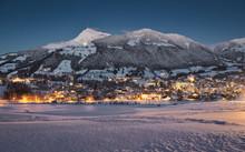 Blick Auf Kitzbühel (Tirol) - Winter