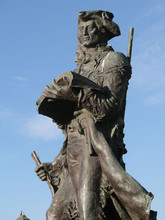 Statue Of Explorers Lewis And ...