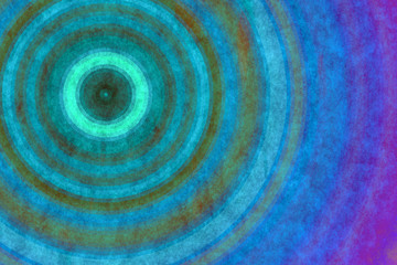 Panel Szklany Retro concentric backgrounds