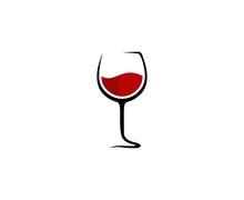 Wine Glass Logo