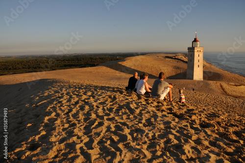 Stampa su Tela Rubjerg Knude Lighthouse
