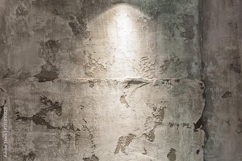 Foto auf AluDibond Alte schmutzig texturierte wand Modern design with decorative plaster walls
