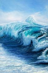 Panel Szklany Marynistyczny Wave