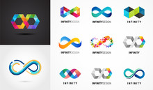 Colorful Abstract Infinity, En...