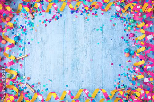 Obraz Karneval (fasching hintergrund) - fototapety do salonu