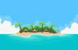 Pixel Art Island