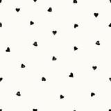 Ręcznie rysowane wzór serca - 135908618