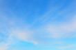 Background of blue sky.