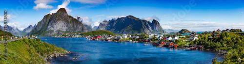 Photo  Lofoten archipelago panorama