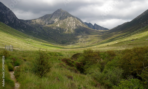 Photo Glen Rosa on the Isle of Arran (Scotland)