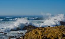 Crashing Waves Salt Point State Park California