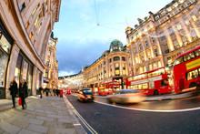 Shopping At Oxford Street, Lon...