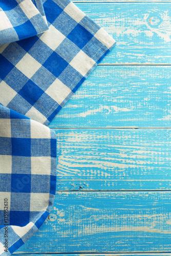 Fototapety, obrazy: cloth napkin on wood