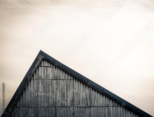 Staande foto Industrial geb. Factory Roof Detail